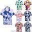 Mens-Hawaiian-T-Shirt-Summer-Floral-Printed-Beach-Short-Sleeve-Tops-Blouse-Hot thumbnail 2