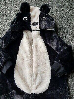 Buono Skunk Outfit 12-18 Mesi-mostra Il Titolo Originale Rafforza Tendini E Ossa