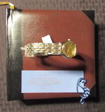 Walt Disney World 100 Years of Magic Watch & Book NM+ 9.6 w COA #918/2000 in Box