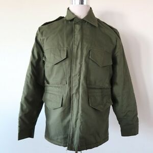 91fc3f7113f Image is loading VINTAGE-MILITARY-STYLE-HUNTING-JACKET-M-52-M52-