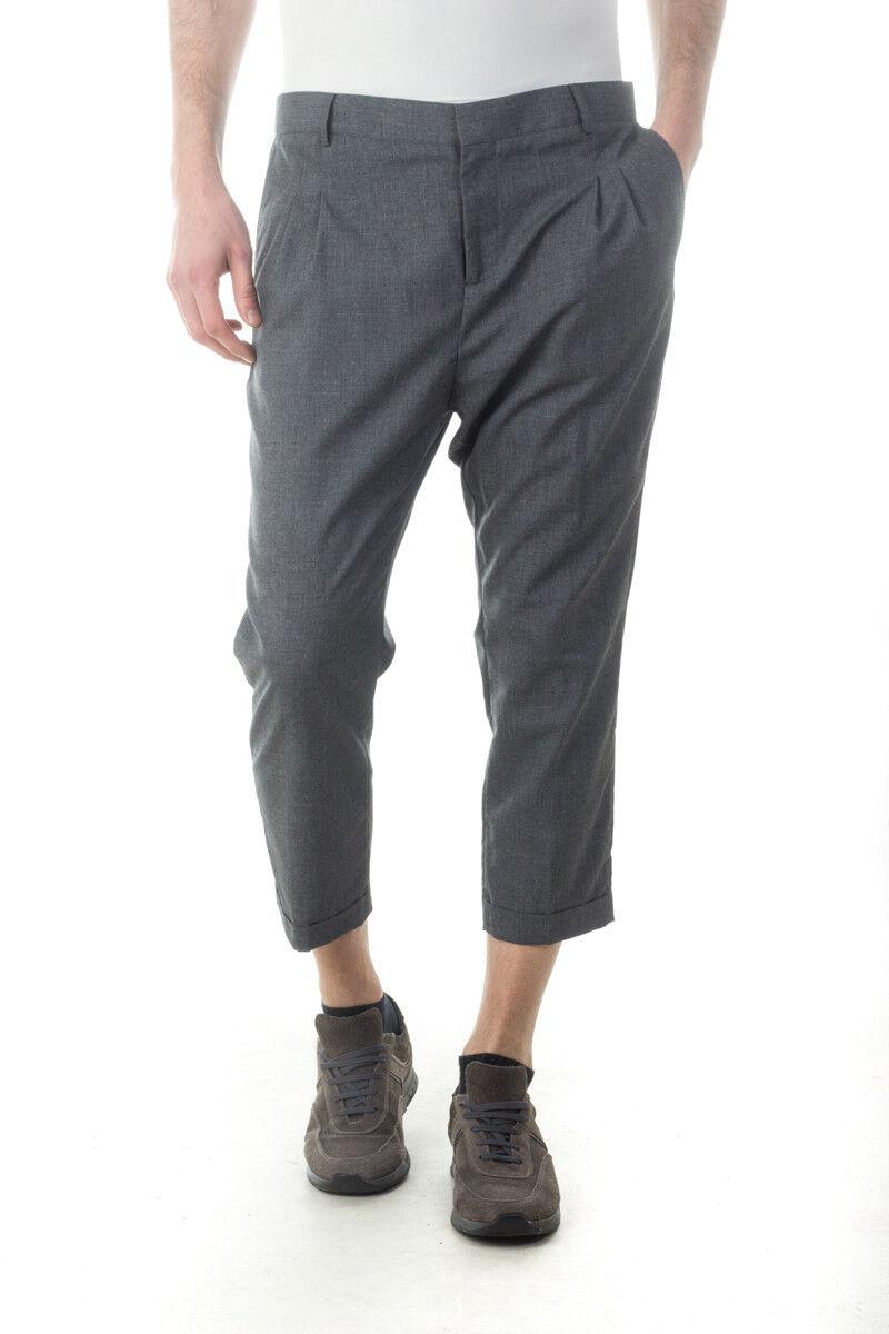 Pantaloni Daniele Alessandrini Jeans Trouser hommes gris P3142S18133506