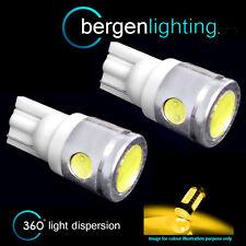 2X W5W T10 501 XENON AMBER 3 LED SMD LAMPADINE FRECCE LATERALI HID SR101101