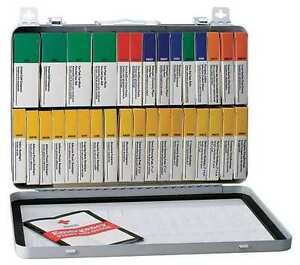 Ansi First Aid Kit 243-AN, 36 Unit, Metal Case, 203 Pieces ~ New Factory Sealed