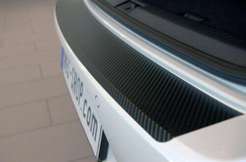 Ladekantenschutz für TOYOTA AVENSIS 2 T25 KOMBI Schutzfolie Carbon Schwarz 3D 16