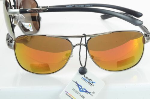NEW POLARIZED METAL FRAME COLORED LENS PILOT STYLE SUNGLASSES  5024