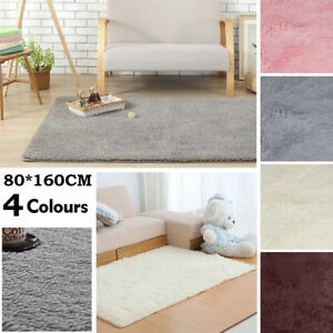 Image Is Loading Fluffy Rugs Anti Skid Shaggy Areas Rug Dining