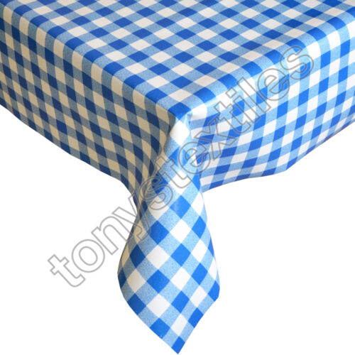 PLASTIC TABLECLOTH WIPE CLEAN PVC VINYL WIPEABLE PARTY OUTDOOR KIDS KITCHEN NEW