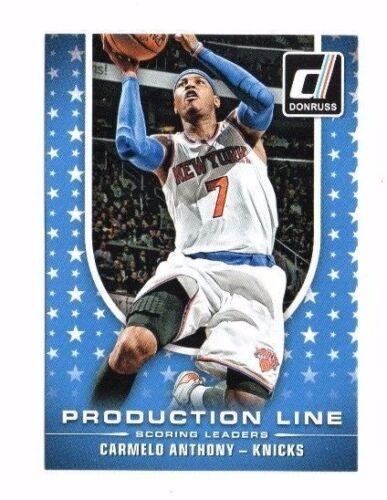 Production Line baloncesto cards!!! 2014-15 Panini Donruss