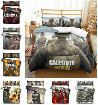 3d Call Of Duty Game Bedding Set, Call Of Duty Queen Bedding
