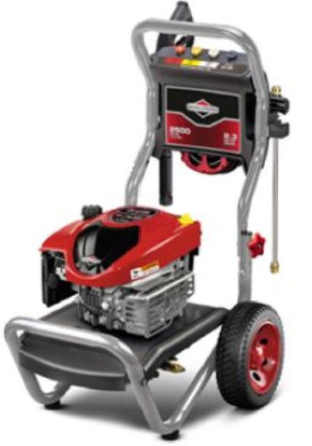 Briggs & Stratton 2500 MAX PSI / 2.3 MAX GPM Pressure Washer #20588