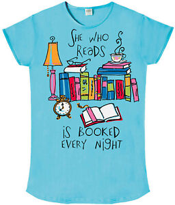 She-Who-Reads-is-Booked-Every-Night-Nightshirt-Cotton-Blue
