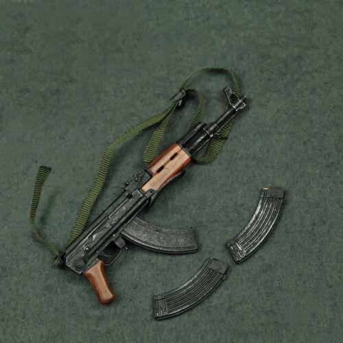 """SCALA 1//6 AK-47 FUCILE D/'ASSALTO PER 12/"""" corpo figura Hot Toys"""