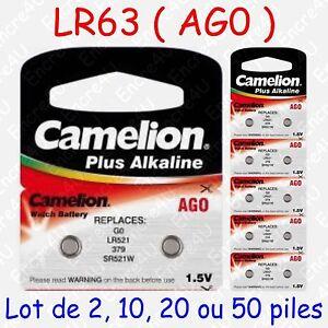 Pile-Bouton-LR-Alcaline-1-5V-AG0-LR63-LR521-379-SR521-lot-de-2-10-20-ou-50