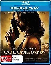 Colombiana Blu Ray Zoe Saldana Brand New