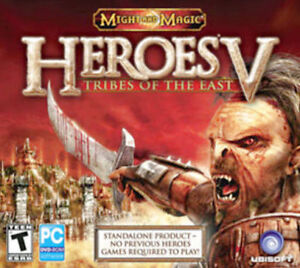 Heroes-of-Might-and-Magic-V-5-Tribes-of-the-East-Brand-New-Sealed-XP-Vista-7-8