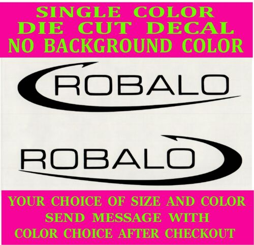 -Robalo Boats Die Cut Vinyl Decal Truck Window Boat Sticker Reproduction 2x