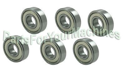 TROY-BILT 6204-ZZ 9410919 6 DECK BEARINGS 741-0919 941-0919 ZZ CUB CADET