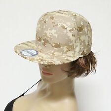item 3 Mens Baseball Cap Camouflage Snapback Flat Bill Plain Solid Hat  Unisex Ball Cap -Mens Baseball Cap Camouflage Snapback Flat Bill Plain  Solid Hat ... 8d289d17c988