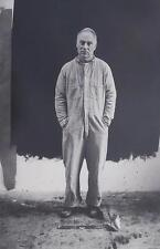 Ari Marcopoulos Silver Gelatin Photograph of NY Minimalist Artist Richard Serra!