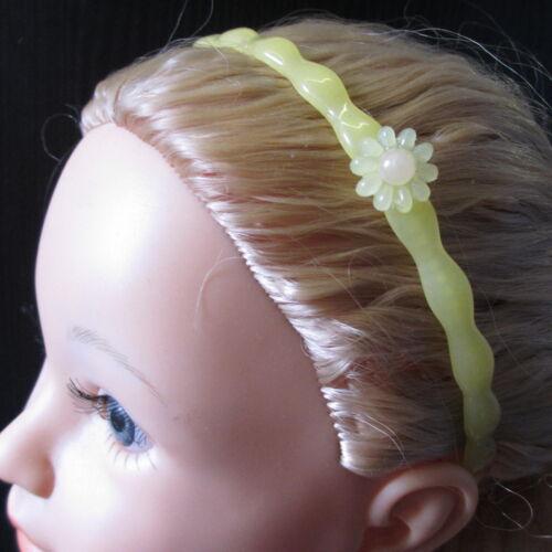 I bambini bella Fascia per Capelli con Fiore bagliore nel buio BUY 1 GET 1 FREE ROSA....
