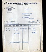 """AVIGNON (84) USINE du PONT-des-DEUX-EAUX / LAMPES ELECTRIQUES """"THORIA"""" en 1934"""
