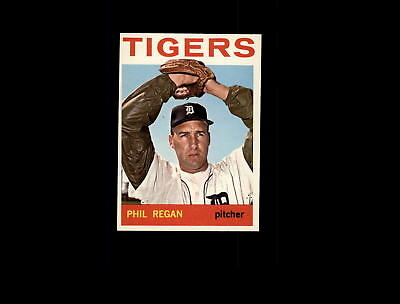 Sports Trading Cards Well-Educated 1964 Topps 535 Phil Regan Ex-mt #d723603 Baseball Cards