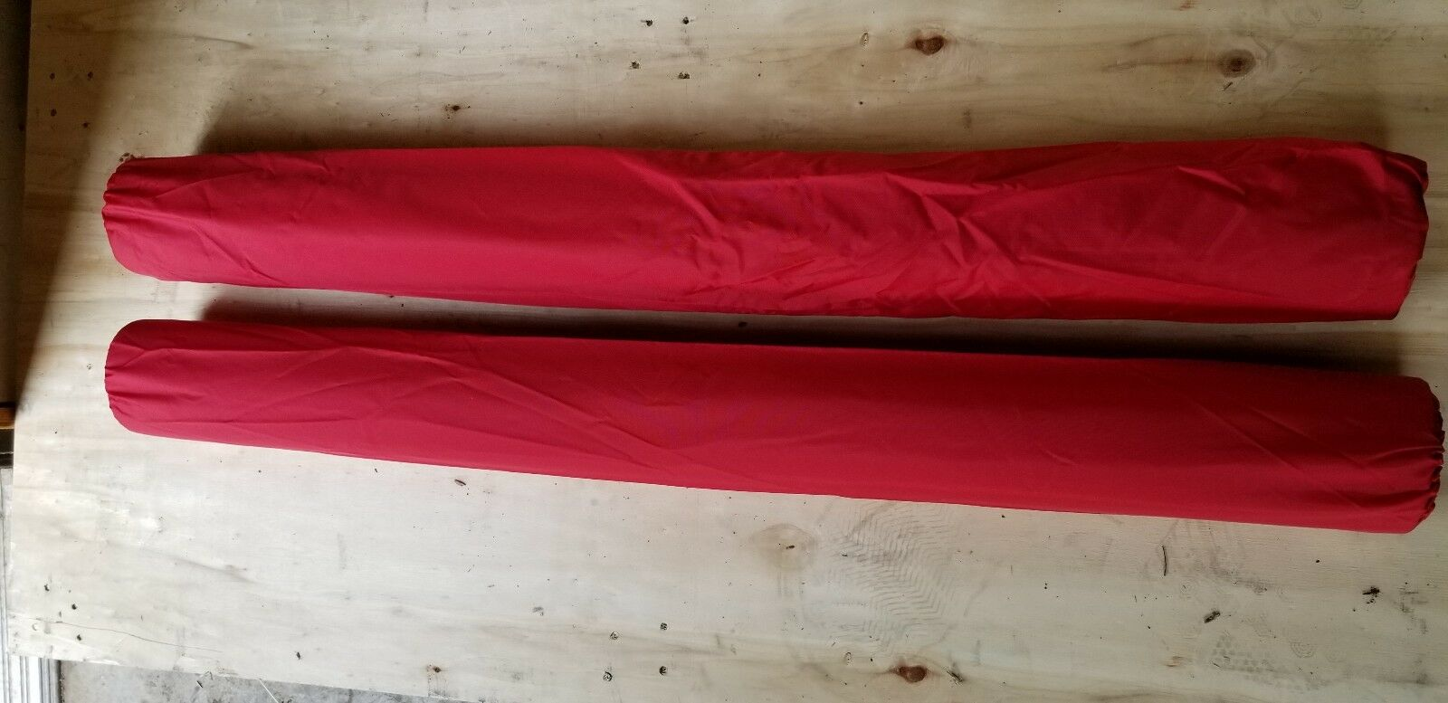 36  x 2 3 8  Trailer Guide Boat Pads PVC Post Covers Sold in Pairs - RED