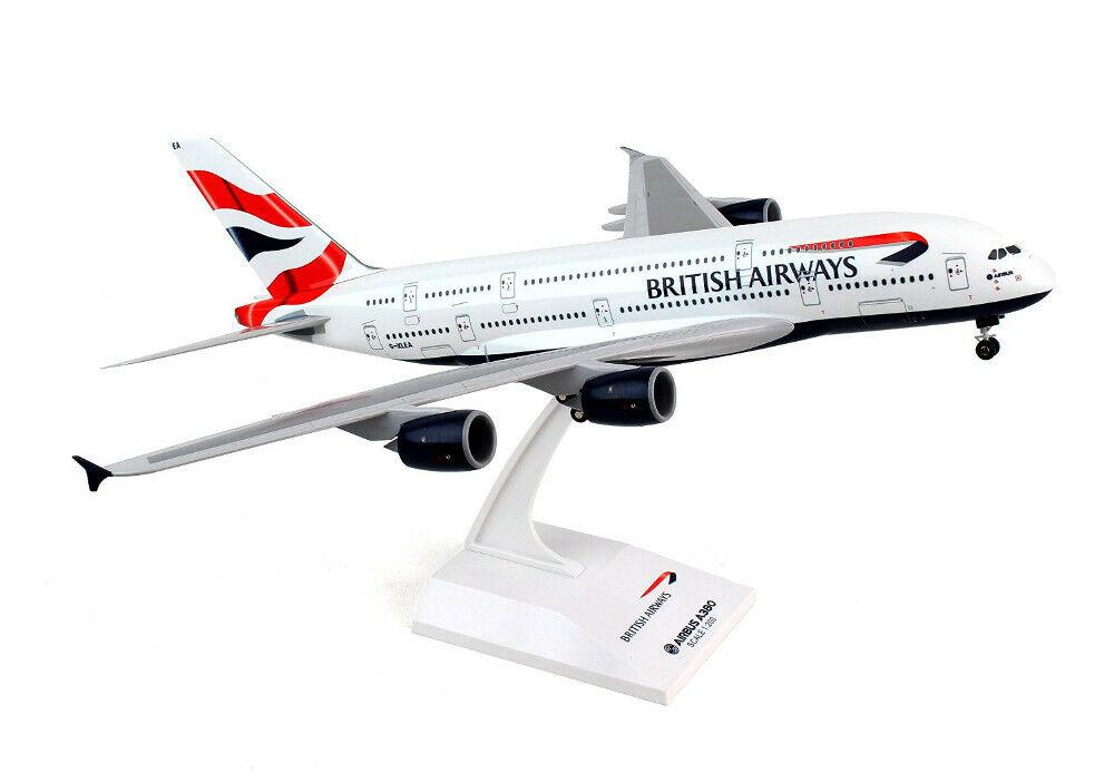 SKY MARKS 652 - 1 200 AIRBUS A380 BRITISH AIRWAYS G-XLEA