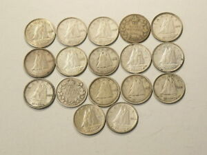 1919-to-1952-Canada-10-Cents-Lot-of-17-2287