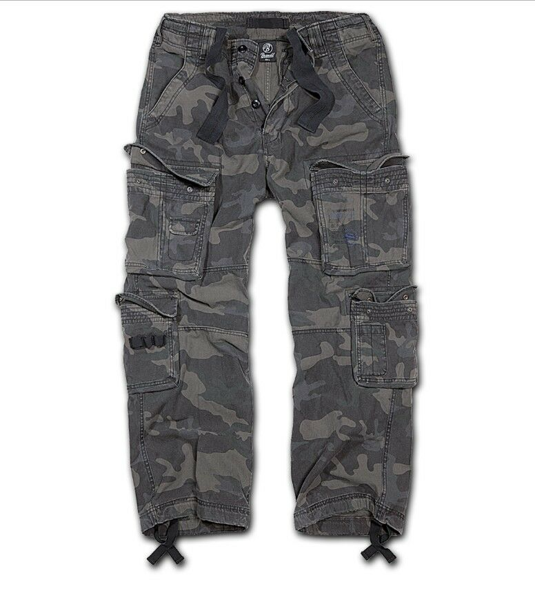 Brandit Pure Vintage Hose Trousers darkcamo