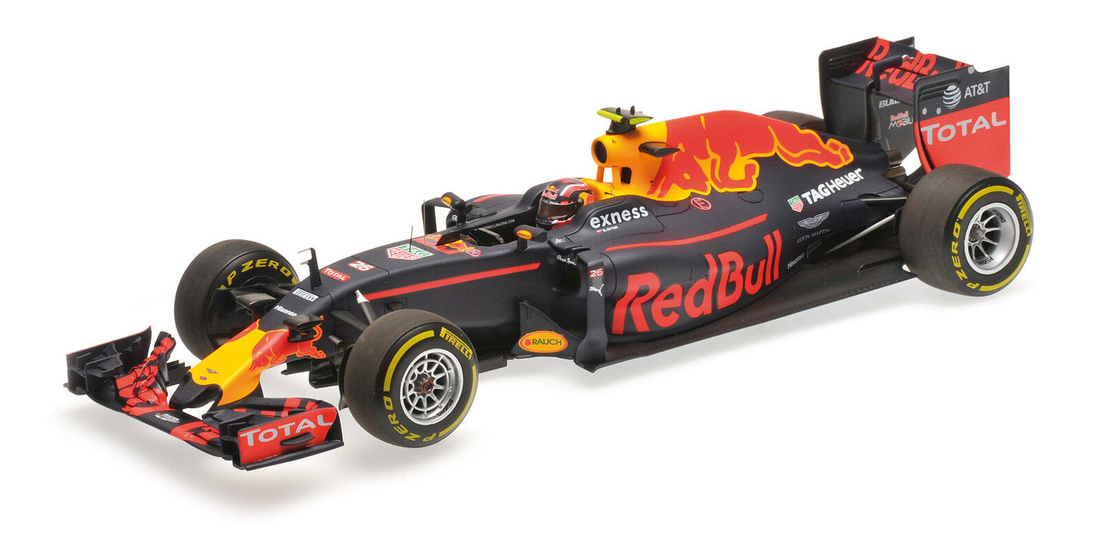 Rosso Bull Racing Tag Heuer Rb12 Daniil Kvyat 2016 F1 Formula 1 1:18 Model