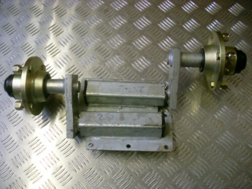 TRAILER SUSPENSION UNITS 250KG GALVANIZED EXTENDED COMPLETE WITH HUBS