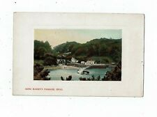 CORNISH POST CARD OF KING HARRY`S PASSAGE RIVER FAL