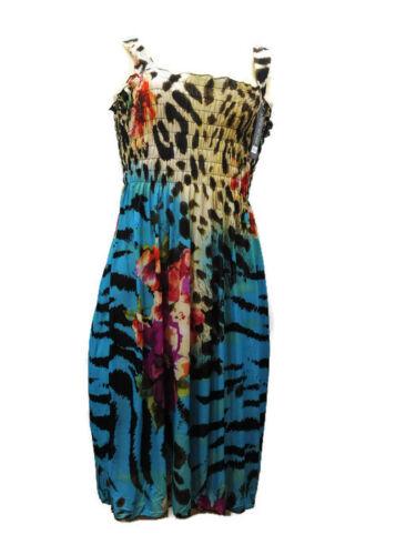 G3 NEW Dress Beach Party Boho Sundress Casual Stretch  Style