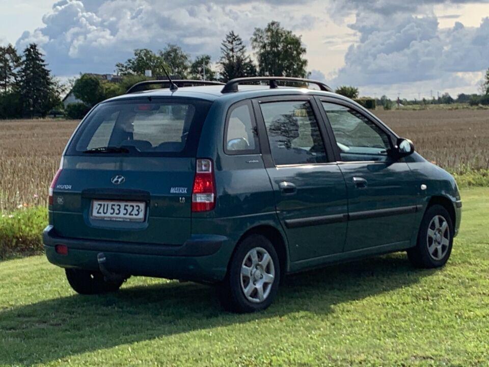 Hyundai Matrix 1,8 GL Benzin modelår 2007 km 138000