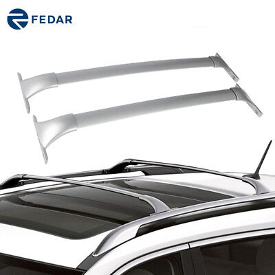Roof Rail Side Racks FIT for 2014-2018 Nissan Rogue Assembly Luggages Carrier