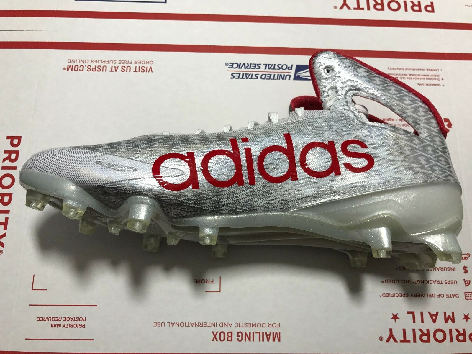 Chaussures de football Adidas adizero 5-Star 5.0 Mid pour hommes, style B54273 PDSF 115 $