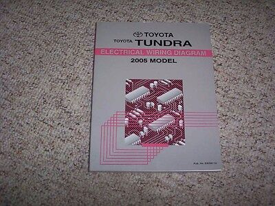 2005 Toyota Tundra Truck Electrical Wiring Diagram Manual ...