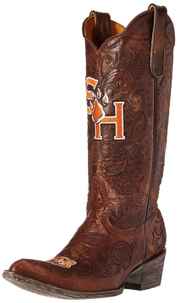 Gameday Boots NCAA Sam Houston State Bearkats Women's 13-Inch