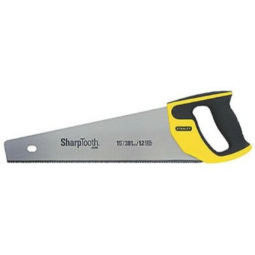 Stanley 20-526 15-Inch 12-Point//Inch SharpTooth Saw