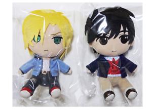 Gift-Plush-set-Ash-Lynx-Eiji-Okumura-Doll-Stuffed-toy-BANANA-FISH-from-JAPAN