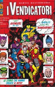 I-VENDICATORI-4-MARVEL-MASTERWORKS-Marvel-Italia-Panini-Comics-NUOVO