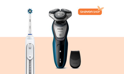 Up to 60% off Selected Shaver Shop Items