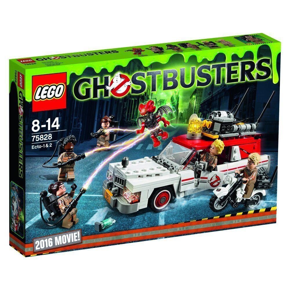 LEGO Ghostbusters - Ecto-1 & 2 (75828)                  NEU+OVP