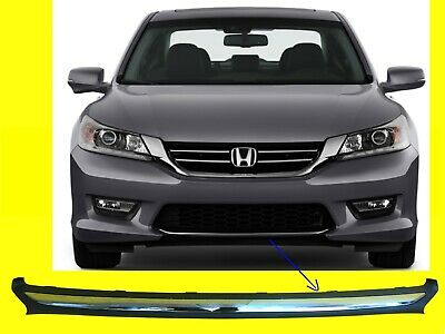 Front Lower Grille Molding Fits 2016-2017 Honda Accord Sedan