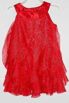 Healthtex Baby Girl Dress 18M 24M Purple Ruffle Glitter Sleeveless Dressy