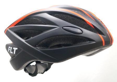 Road In-Mould Bicycle Helmet Flite HC-27 58-61cm Large Matt Black//Orange