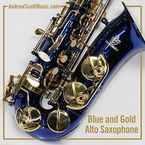 New-Blue-and-Gold-Alto-Saxophone-in-Case-Suitable-for-both-Professionals-Age-9