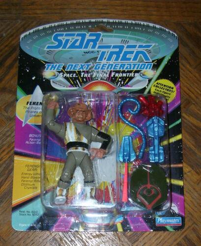 "Star Trek FERENGI 4.5/"" Action Figure 1992 5 Carded Playmates"