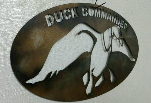 "Painted steel! Duck Commander Sign 25/"" wide"